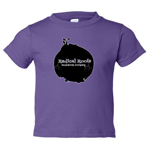 Toddler - Unisex Short Sleeve Jersey Tee - Radical Roots Seed Bomb Company