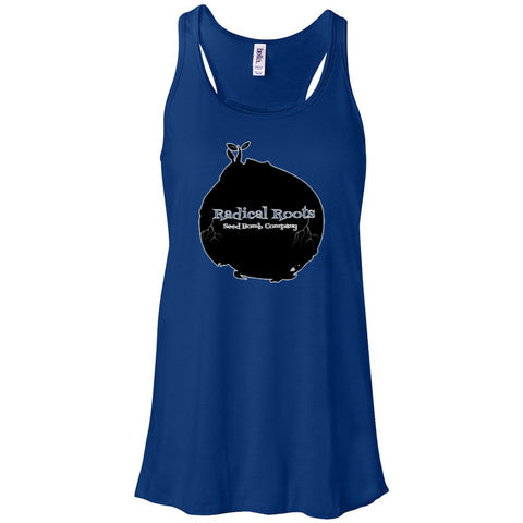 Bella + Canvas - Women's Flowy Racerback Tank - Radical Roots Seed Bomb Company