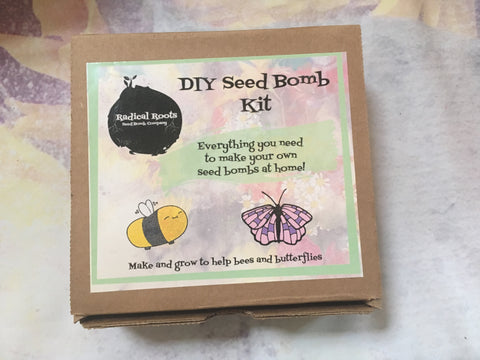 DIY Seed Bomb  Kit - Radical Roots Seed Bomb Company