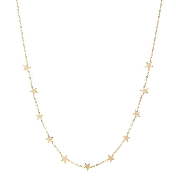 Star On Stars Necklace
