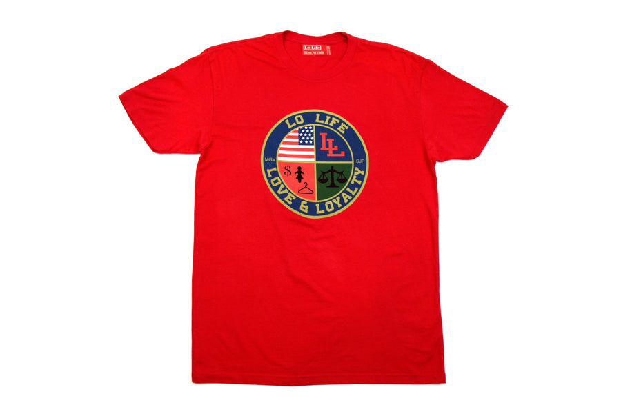 LL Cookie Tee - Red