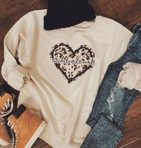 Wild @ Heart Sweatshirt
