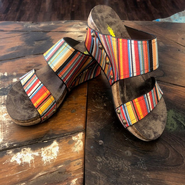 Serape Wedge Slide