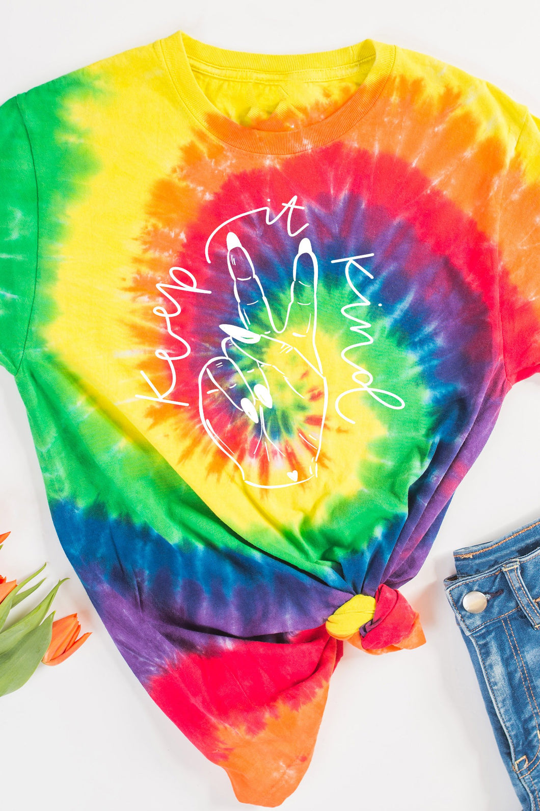 Keep It Kind Tie Dye Tee