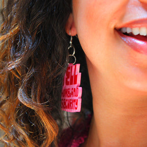 DETROIT'S EARRINGS - HLS / BOMB