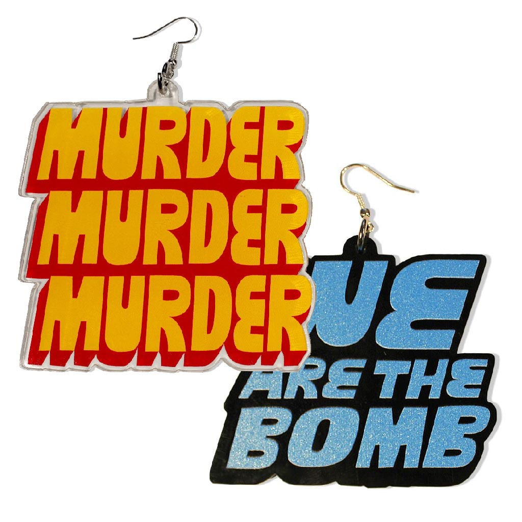 DETROIT'S EARRINGS - MURDER / KILL & HLS COMBO PACK