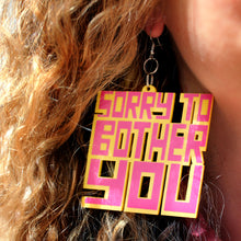 STBY EARRINGS - PINK / YELLOW