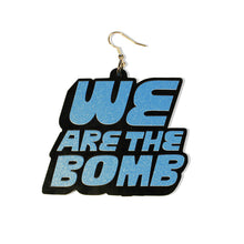 DETROIT'S EARRINGS - HLS / BOMB (Black / Acrylic)