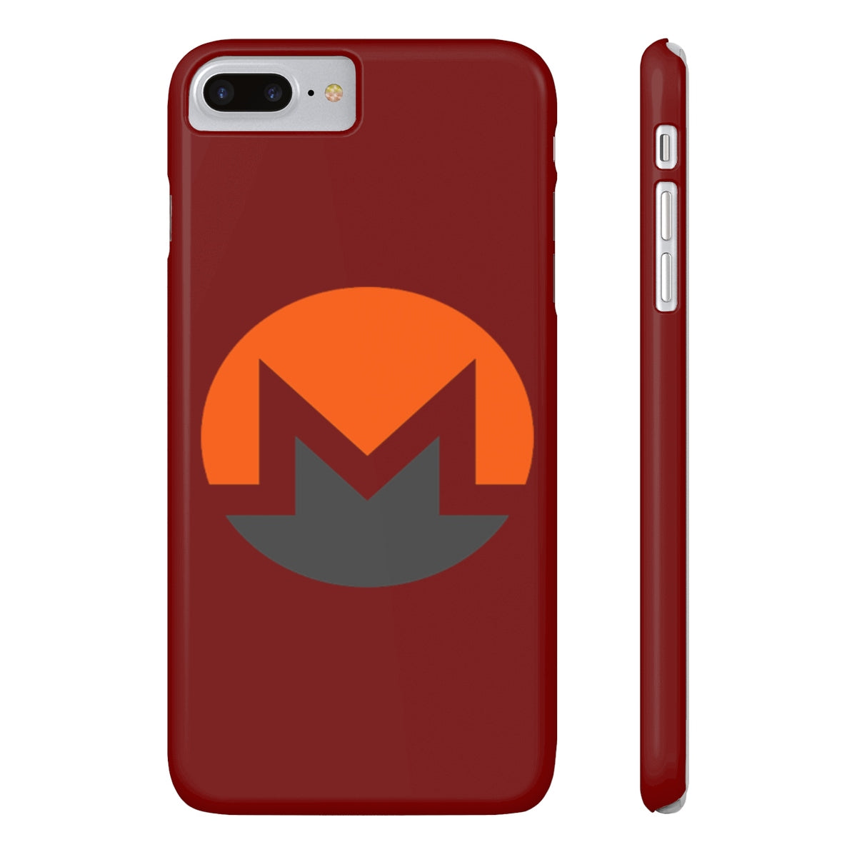 Monero Coin Red Slim