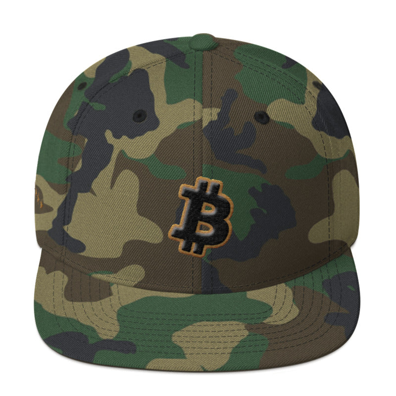 Bitcoin 2018 5-Star Memorial Day Snapback Hat