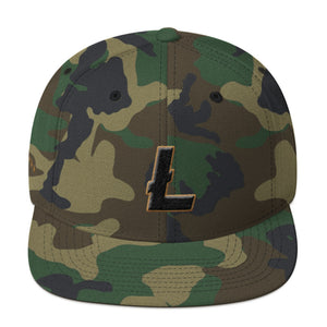 Litecoin 2018 5-Star Memorial Day Snapback Hat
