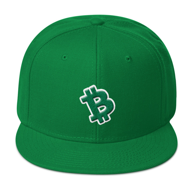 Bitcoin Cash Snapback Hat