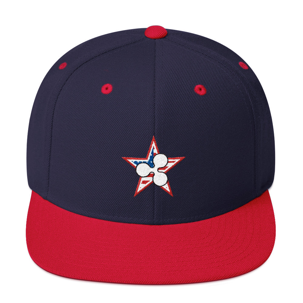 Ripple July 4th Snapback Hat