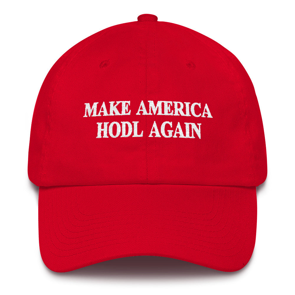 Make America HODL Again Adjustable Cap
