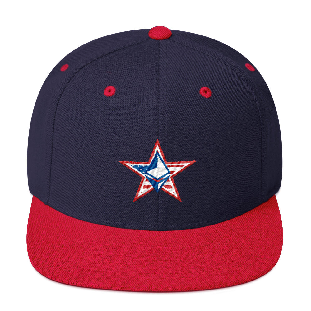 Ethereum July 4th Snapback Hat