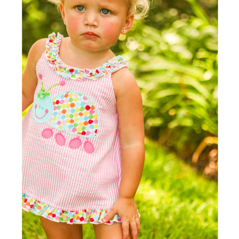 Bailey Boys - Ladybug Dress/Bubble - kkgivingtree - K&K's Giving Tree