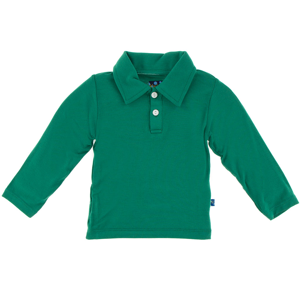 Shady Glade Long Sleeve Polo