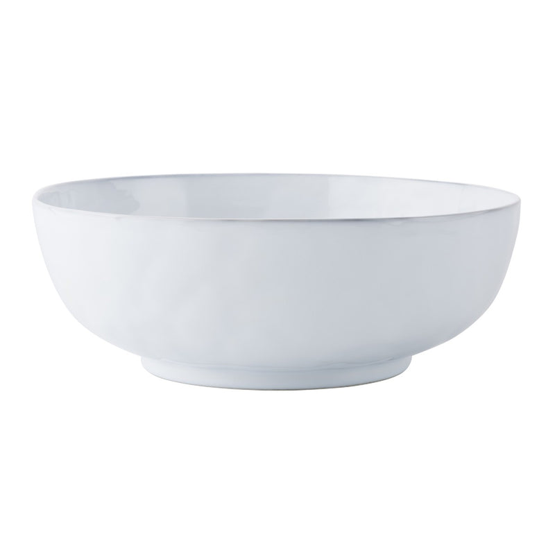 "Quotidien White Truffle 14"" Serving Bowl"