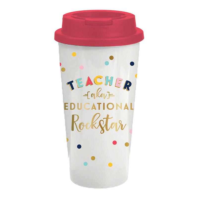 Teacher Travel Tumbler