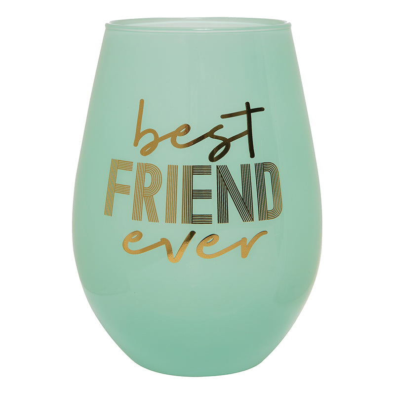 Best Friend Ever Jumbo Wine Glass