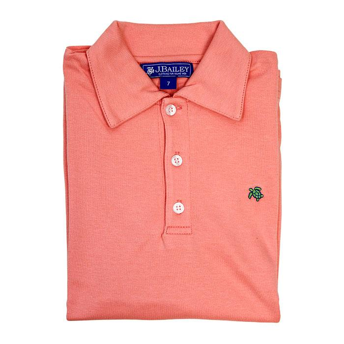 Coral Reef Short Sleeve Polo