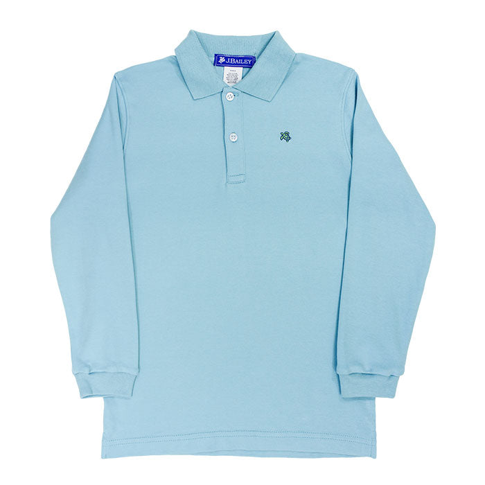 Ocean Long Sleeve Polo