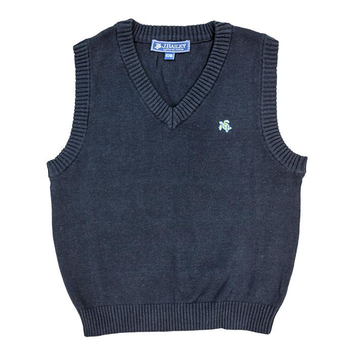 Navy Blue William Vest