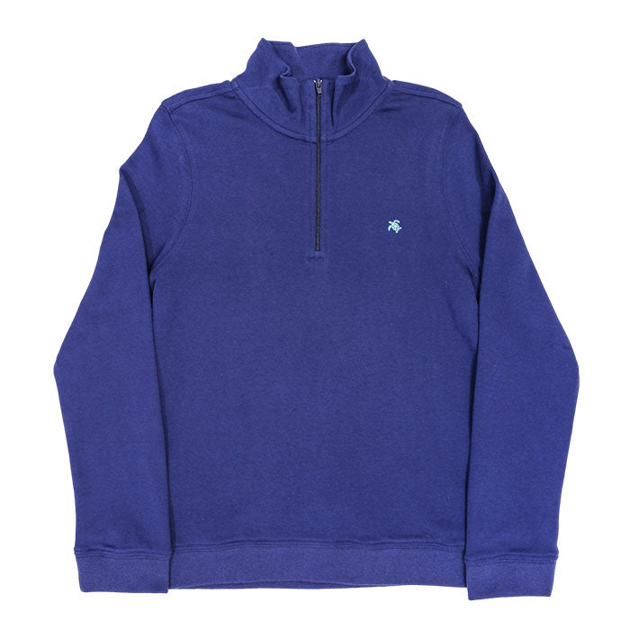 The J Bailey Glenn Half Zip in Navy