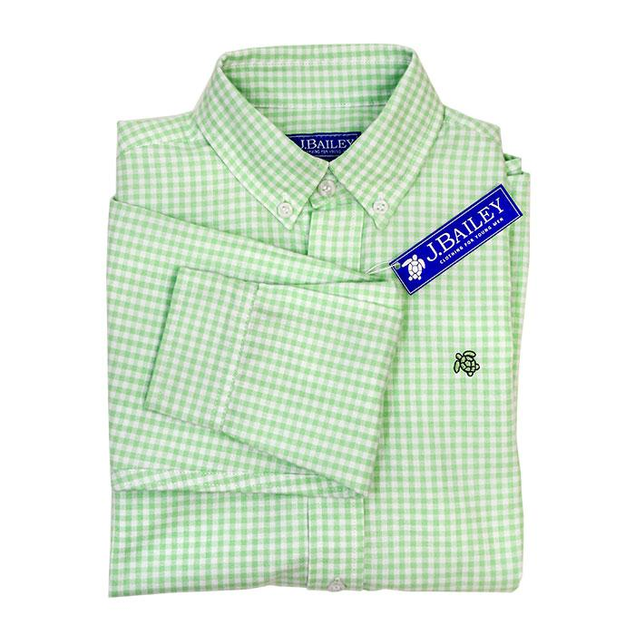 Kiwi Check Button Down Shirt