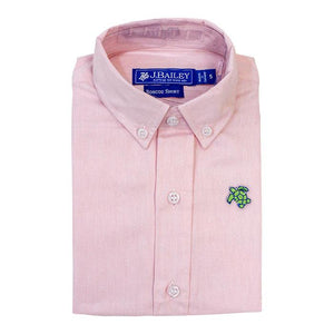 The J Bailey Roscoe Button Down Pink Oxford