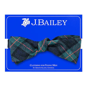 McNeill Plaid Bow Tie
