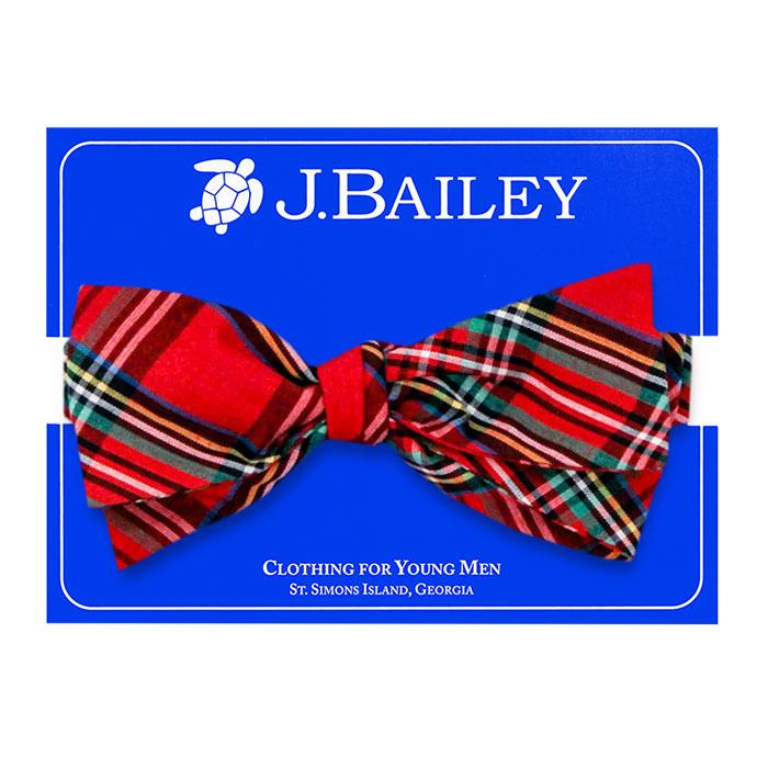 The J Bailey Johnny Bow Tie in Tartan Plaid