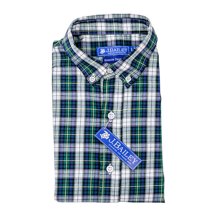 Mallard Plaid Button Down Shirt