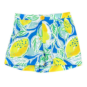 Tuscan Yellow Lemons Club Short