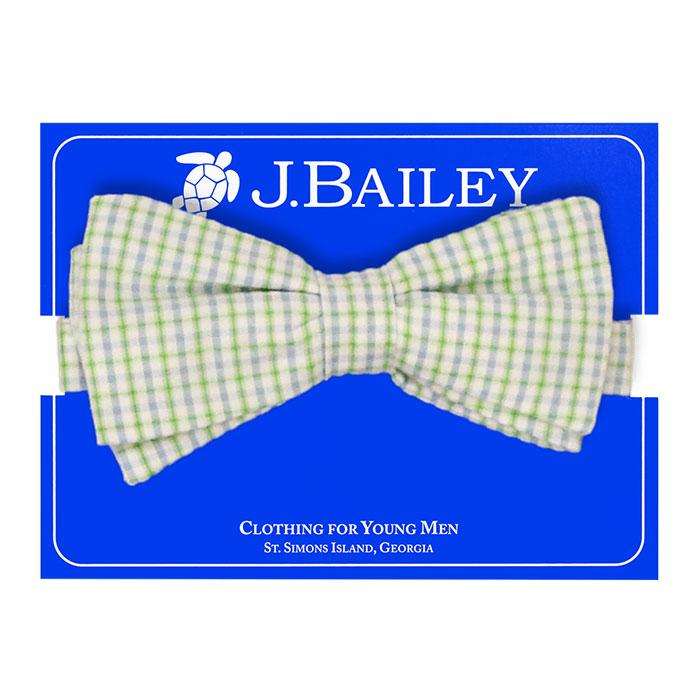 Castaway Seersucker Johnny Bow Tie