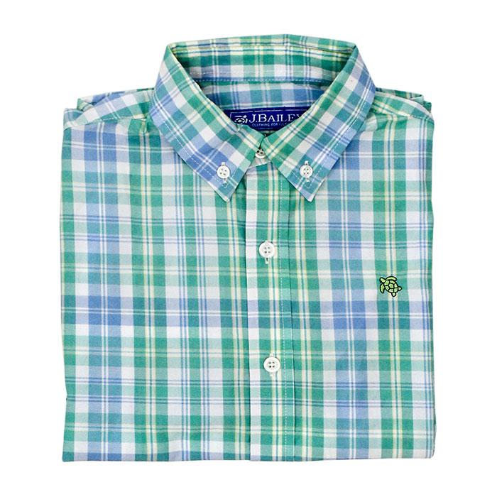 Clearwater Plaid Button Down Shirt