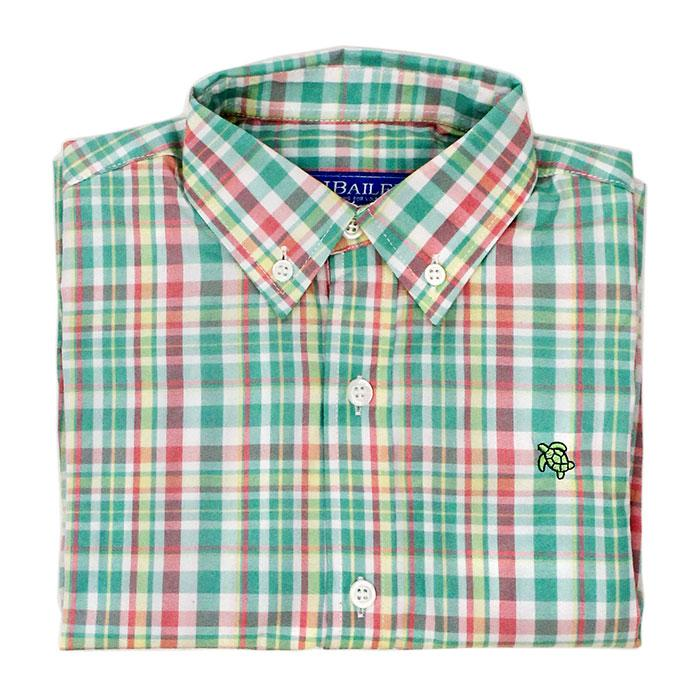 Meadowbrook Plaid Button Down Shirt