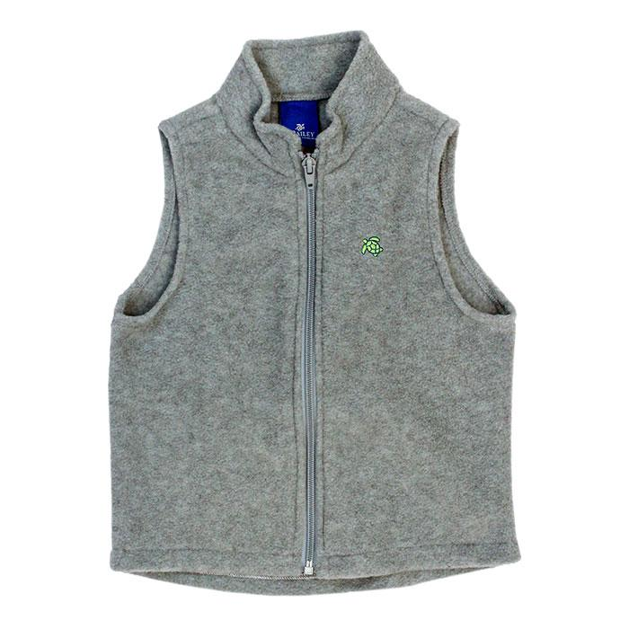 Mills Fleece Vest - Grey