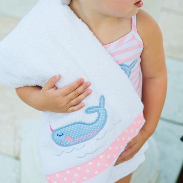 Nifty Narwhal One Piece Swimsuit