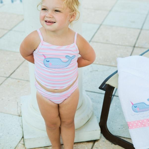 Nifty Narwhal Two Piece Swimsuit