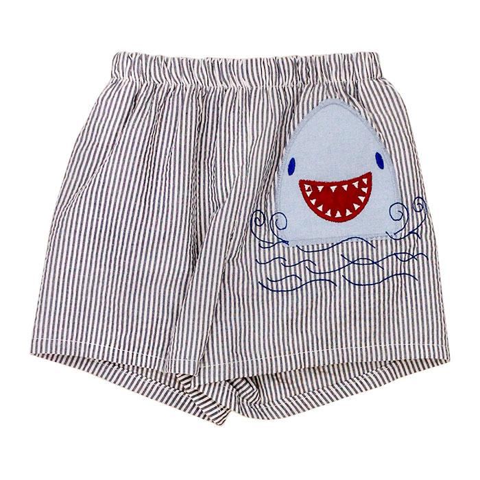 Smiley Shark Swim Trunk