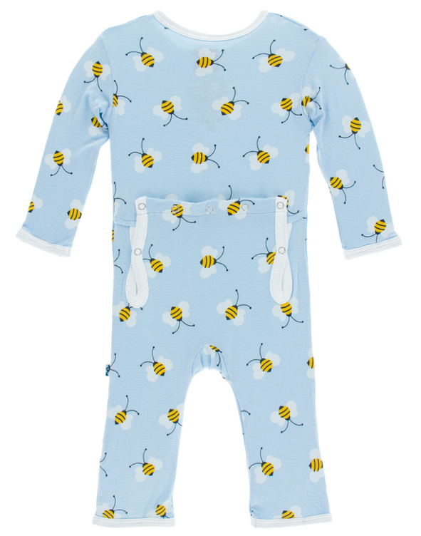 Pond Bees Coverall w/ Zipper