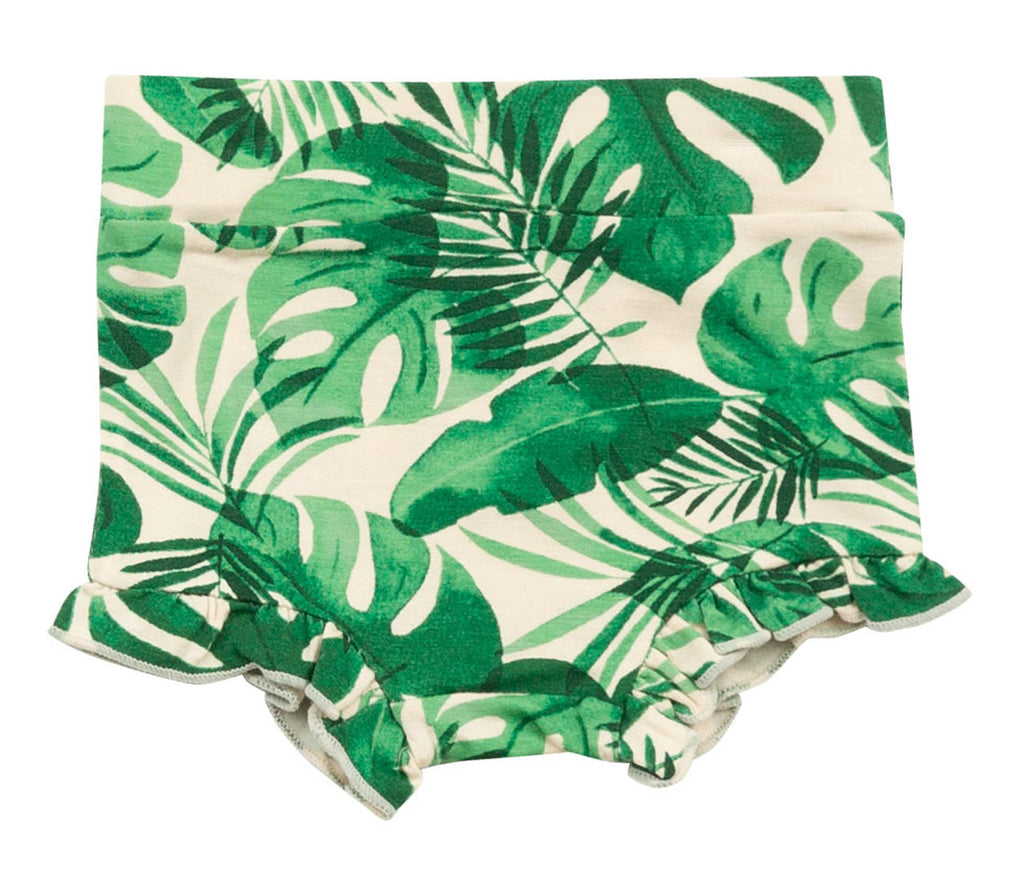 Monstera Deliciosa High Waisted Shorts