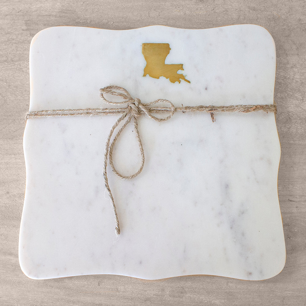 Louisiana Marble Serving Board