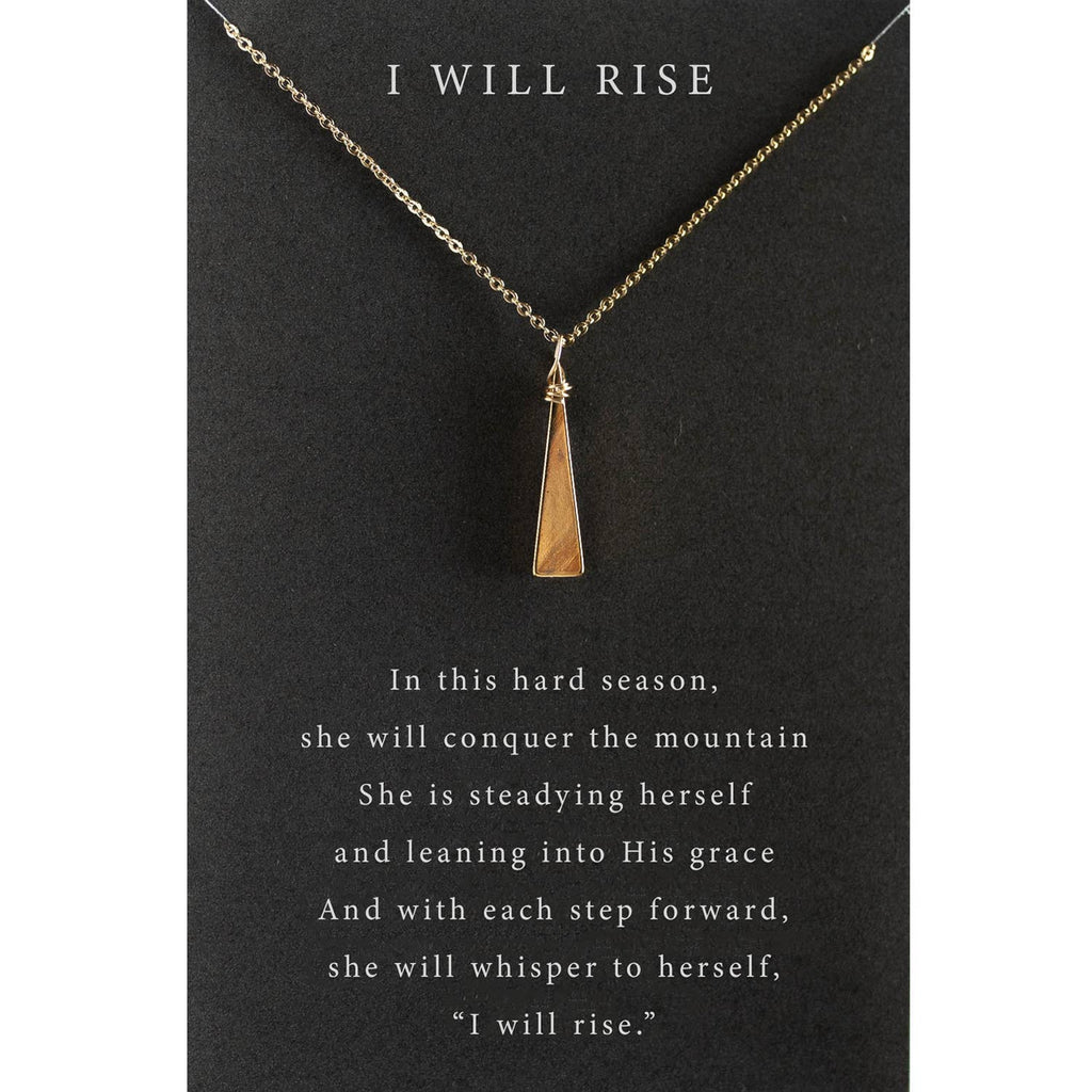 I Will Rise Necklace