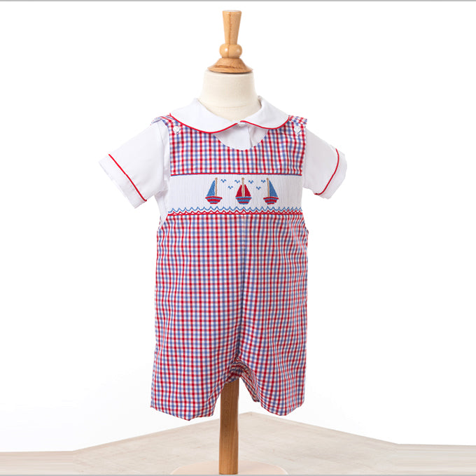 Red Regatta Smocked Shortall