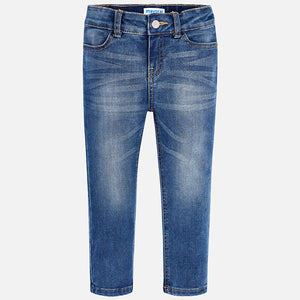 Basic Denim Skinny Fit Jeans