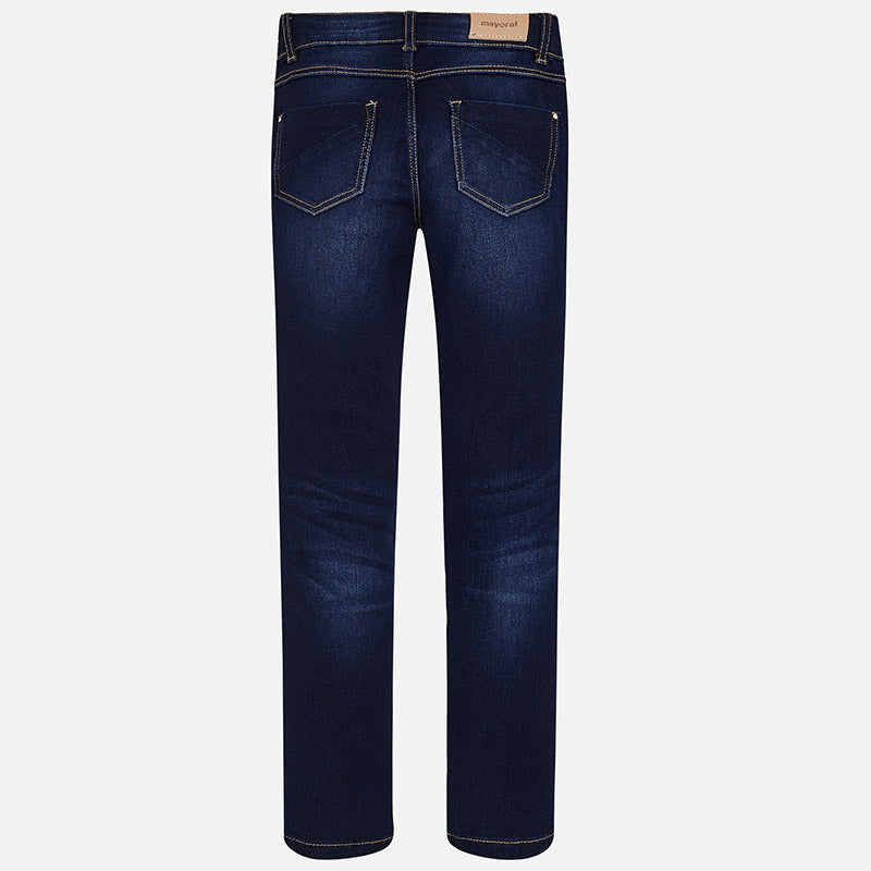 Dark Denim Skinny Fit Jeans