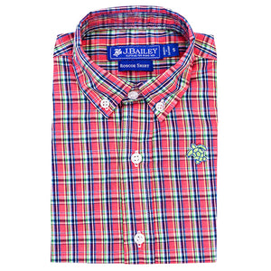 Banbury Plaid Roscoe Button Down Shirt