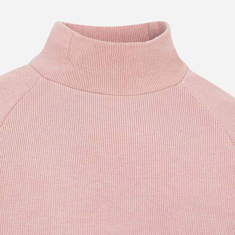 Blush Mockneck Sweater
